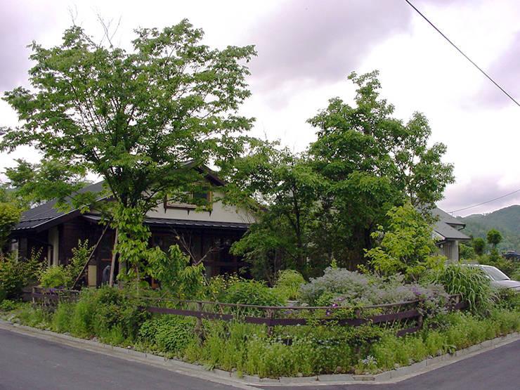 夏の庭: 庭 遊庵が手掛けた庭です。,