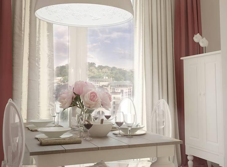 Столовая: Столовые комнаты в . Автор – Ольга Бондарь,