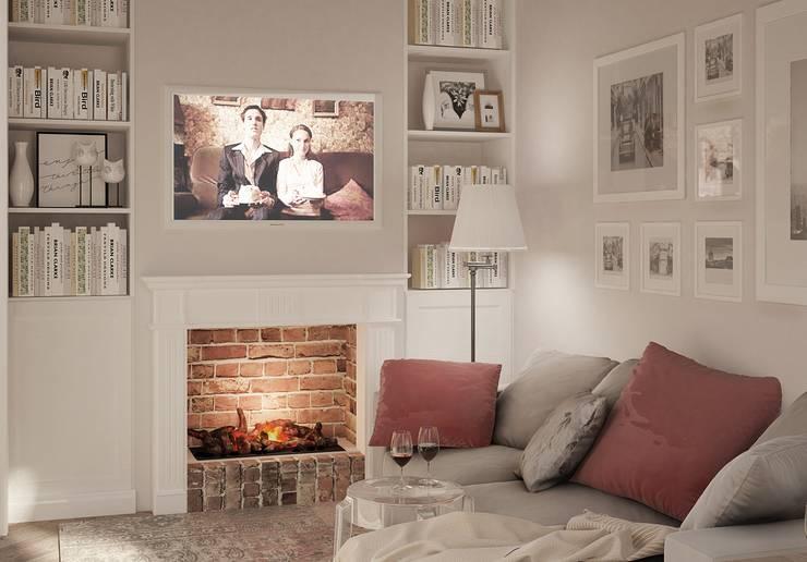 Salas de estilo  por Ольга Бондарь