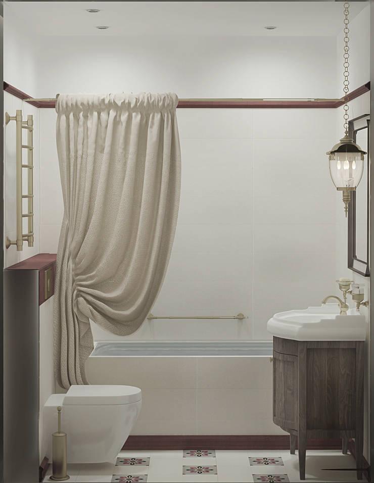 Ванная: Ванные комнаты в . Автор – Ольга Бондарь,
