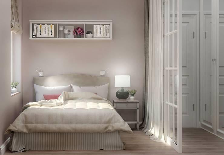Спальня: Спальни в . Автор – Ольга Бондарь,