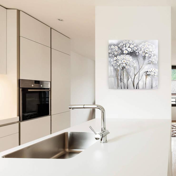 gem lde wandbilder f r die k che kunstloft. Black Bedroom Furniture Sets. Home Design Ideas