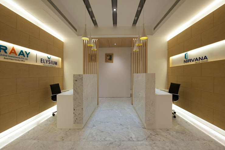 PE Office:  Offices & stores by KdnD Studio LLP,Modern