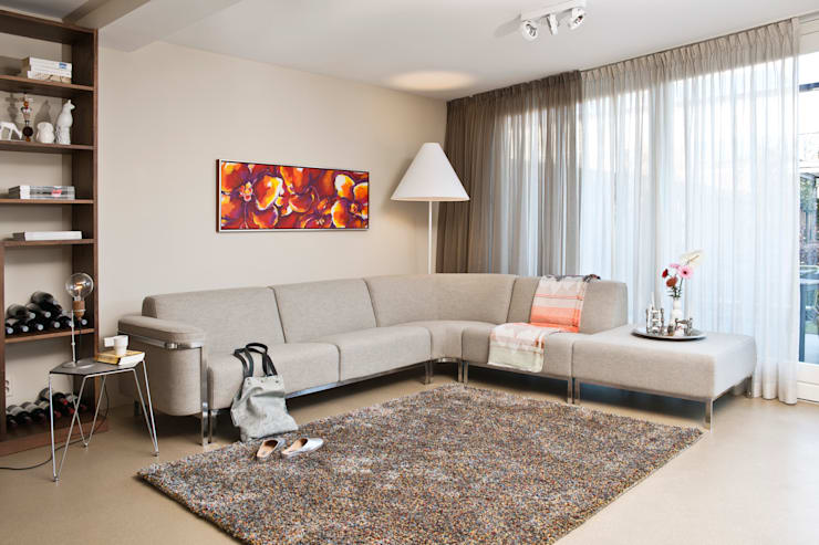 6 tips voor het kiezen van het perfecte schilderij voor de for Schilderij woonkamer