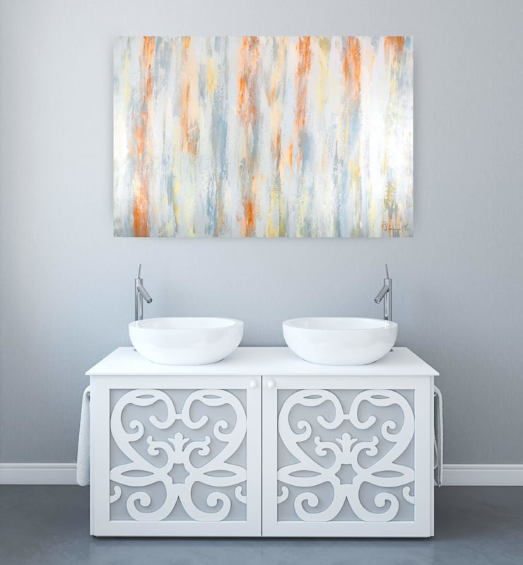 Gemälde & Wandbilder für das Badezimmer von KUNSTLOFT   homify