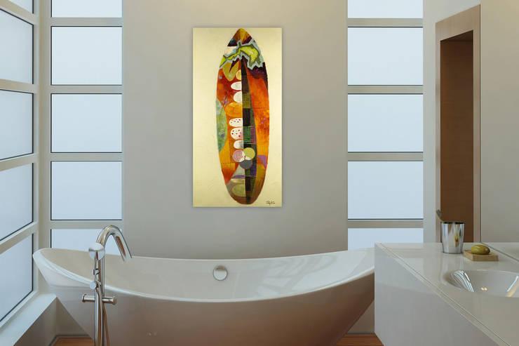 Buntes badezimmer stockfotos buntes badezimmer bilder - Wandbilder fur badezimmer ...
