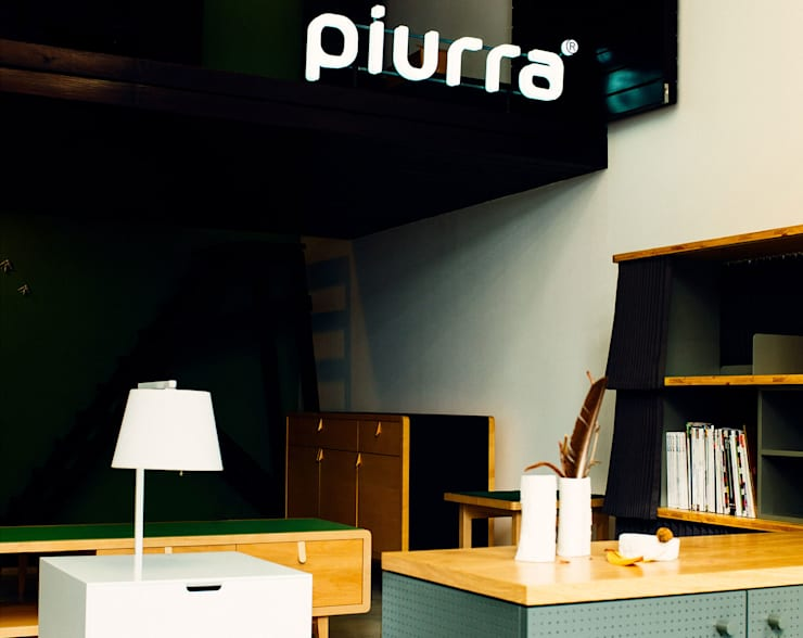 Piurra 01: Sala de estar  por Piurra, lda