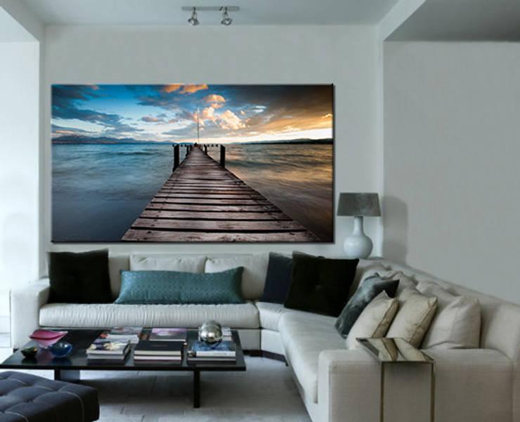 TABLOSTUDYO – salon: modern tarz Oturma Odası