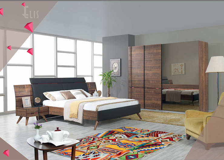 Gllamor Elis Bedroom: modern Bedroom by Gllamor