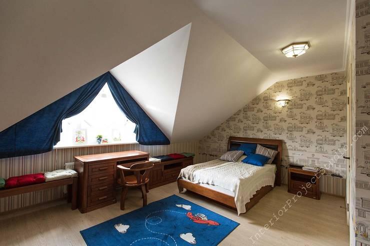 Детская комната мальчика:  в . Автор – Аврора - частный дизайнер интерьера (ИП)