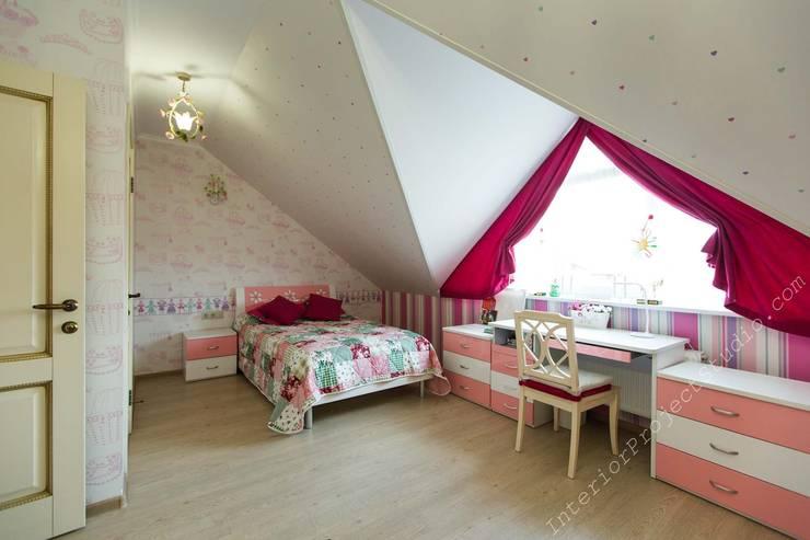 Детская комната маленькой девочки:  в . Автор – Аврора - частный дизайнер интерьера (ИП)