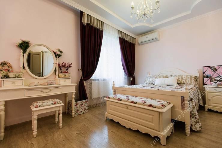Спальня девочки-подростка:  в . Автор – Аврора - частный дизайнер интерьера (ИП)