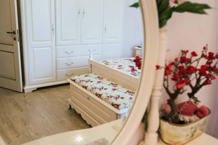 Фрагмент спальни девочки-подростка:  в . Автор – Аврора - частный дизайнер интерьера (ИП)