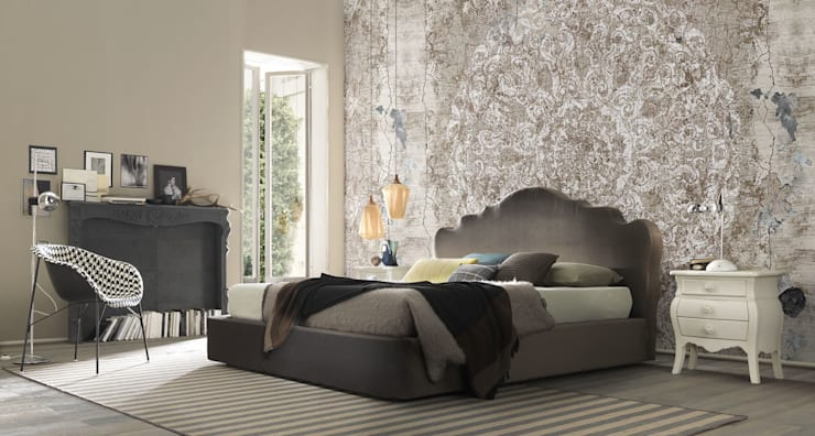 Wallpaper: Camera da letto in stile  di Els Home