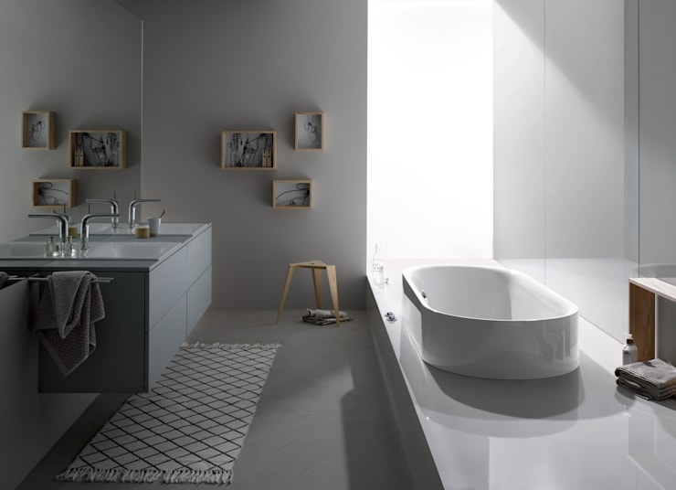 BetteLux: Casa de banho  por Preto&Pinho