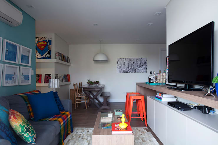 Salas / recibidores de estilo  por UNION Architectural Concept