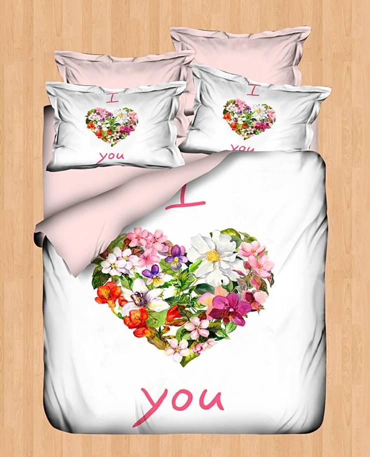 Mutlu Home – Nevresim Takımları: modern tarz Yatak Odası