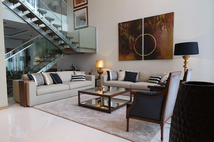 Sala Comum - zona de estar: Salas de estar  por Stoc Casa Interiores