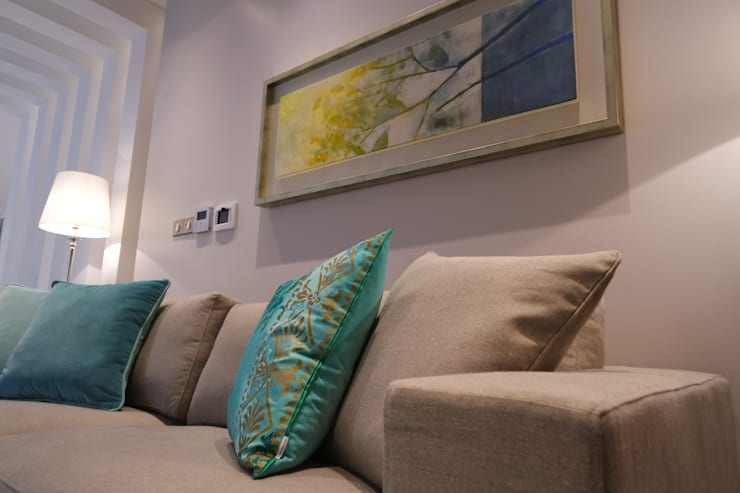 Sala de Estar: Salas de estar  por Stoc Casa Interiores