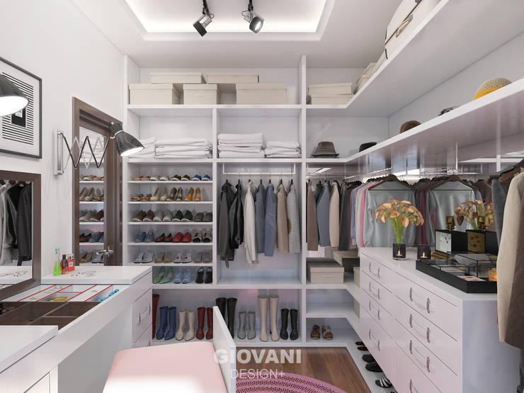 Гардеробная комната: Гардеробные в . Автор – Giovani Design Studio