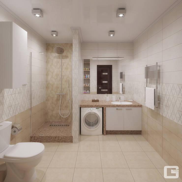 Панорамная мечта. Санузел : Ванные комнаты в . Автор – Giovani Design Studio, Эклектичный