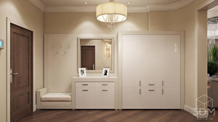 Проект 030: интерьер частного дома: Коридор и прихожая в . Автор – студия визуализации и дизайна интерьера '3dm2'
