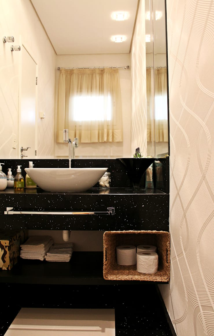 Angelica Pecego Arquitetura:  tarz Banyo,