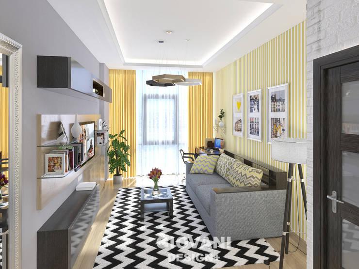 ห้องนั่งเล่น by Giovani Design Studio