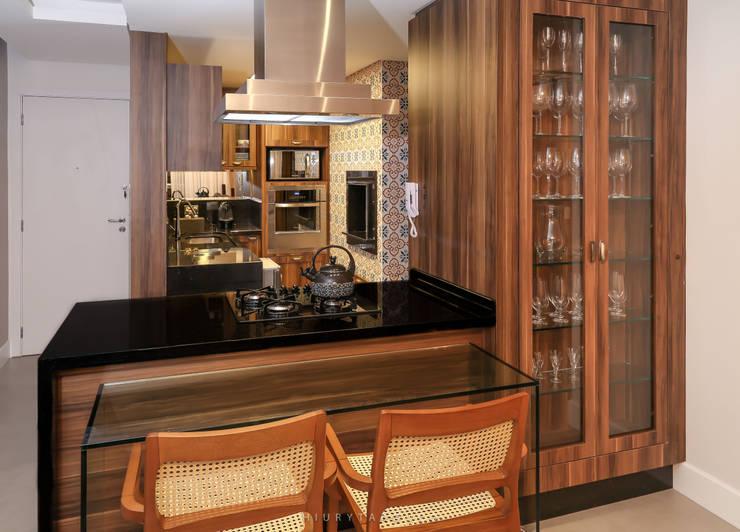 ACK: Cozinhas  por Angelica Pecego Arquitetura