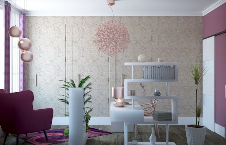 Concept d'intérieurが手掛けた勉強部屋/オフィス