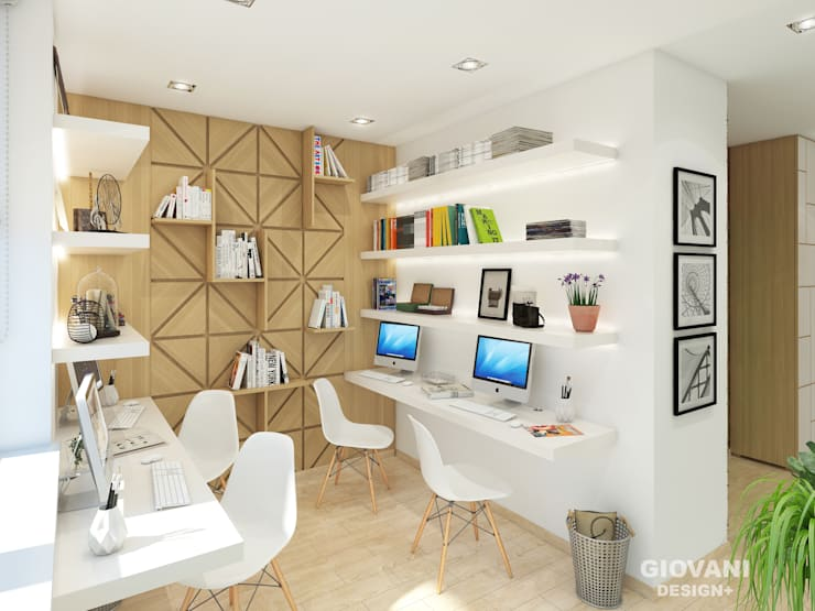 Study/office by Giovani Design Studio, Industrial