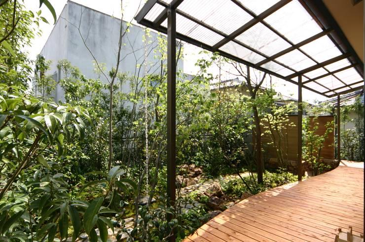 after: 庭 遊庵が手掛けた庭です。,