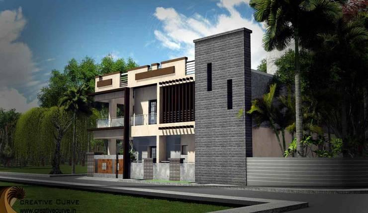 Villa Design:  Houses by Creative Curve