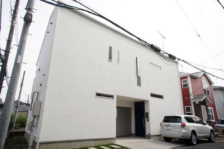 外観: モノマ建築設計事務所が手掛けたです。