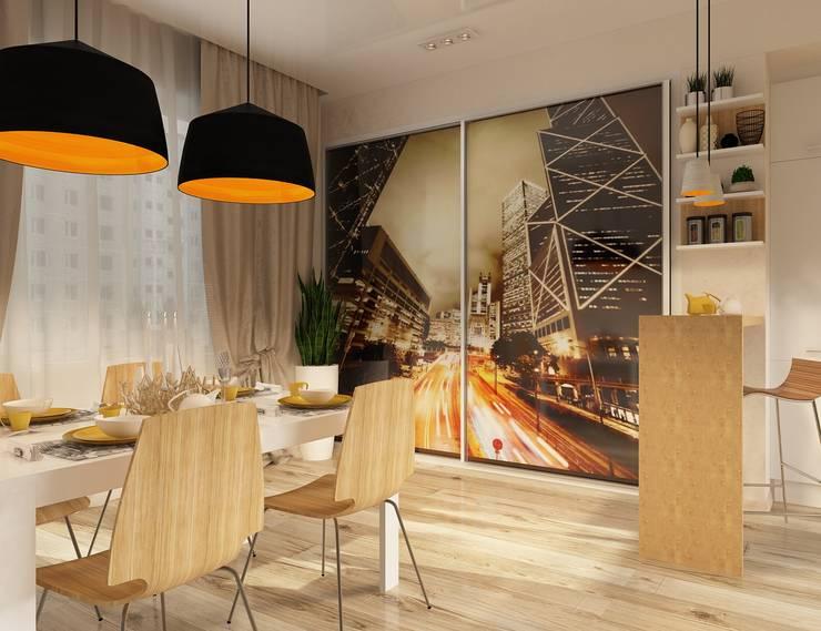Урбанистический уют: Кухни в . Автор – Ирина Альсмит,