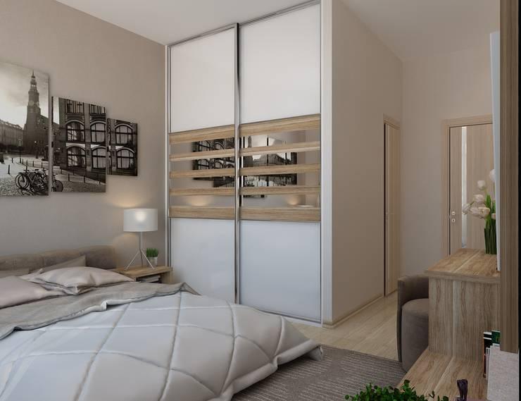 Урбанистический уют: Спальни в . Автор – Ирина Альсмит,