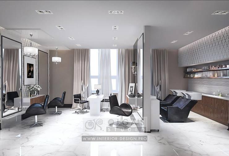 Кабинет стилистов в СПА салоне: Коммерческие помещения в . Автор – Olga's Studio
