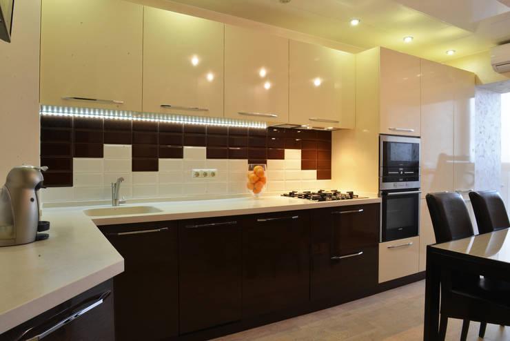 Функционально-уютный МИКС: Кухни в . Автор – Ирина Альсмит
