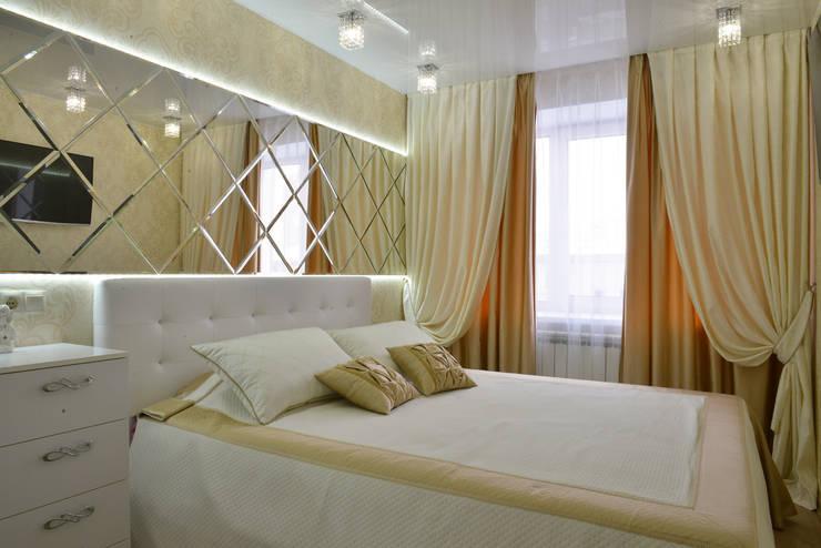 Функционально-уютный МИКС: Спальни в . Автор – Ирина Альсмит