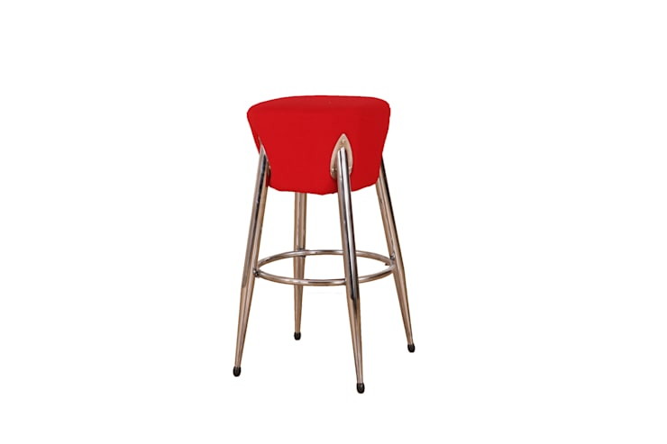 Gllamor Red stool: modern Dining room by Gllamor