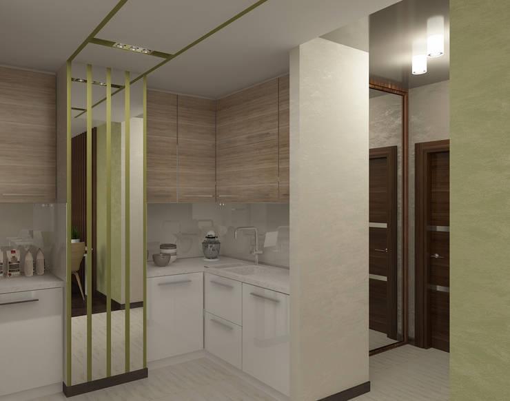 Квартира для молодой семьи: Кухни в . Автор – Ирина Альсмит