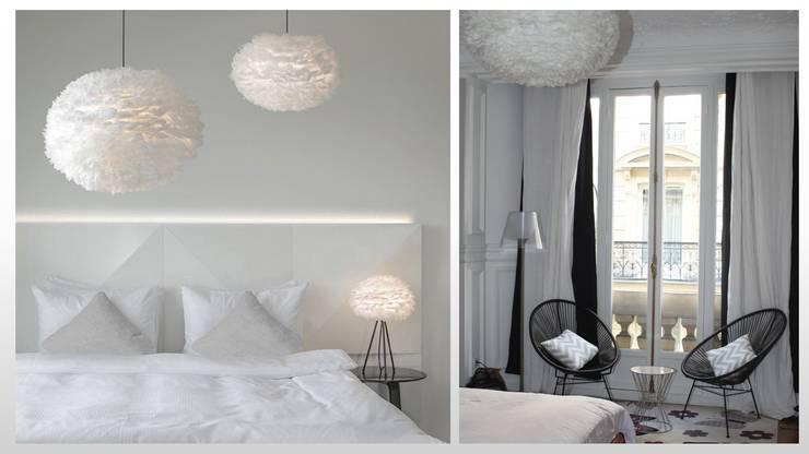 Appartement - Paris 8: Chambre de style  par ARCHITECTURAL DECO