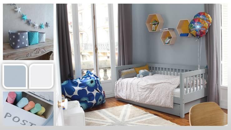 Appartement - Paris 8: Chambre d'enfant de style  par ARCHITECTURAL DECO