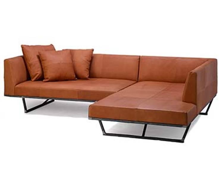 FLATソファ ワンアーム+カウチ FKU1301: 株式会社 杉山製作所が手掛けた現代のです。,モダン