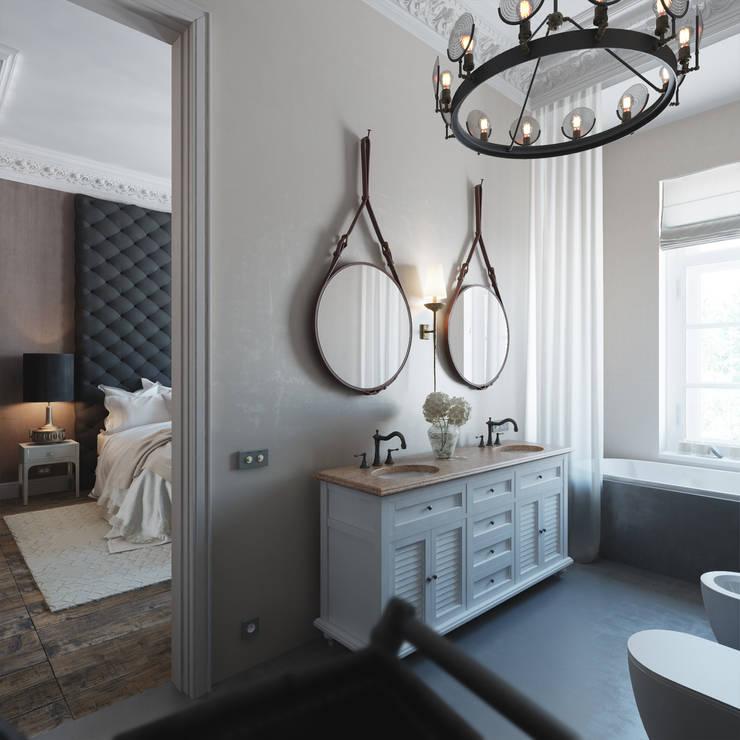 scandinavian Bathroom by FAOMI