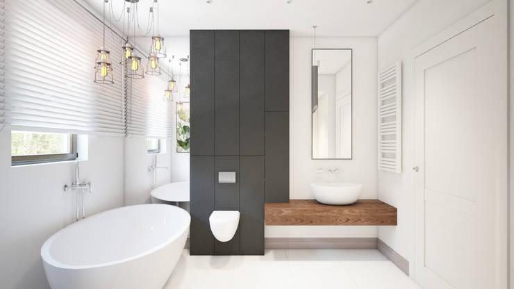 Salle de bain minimaliste par Finchstudio Minimaliste