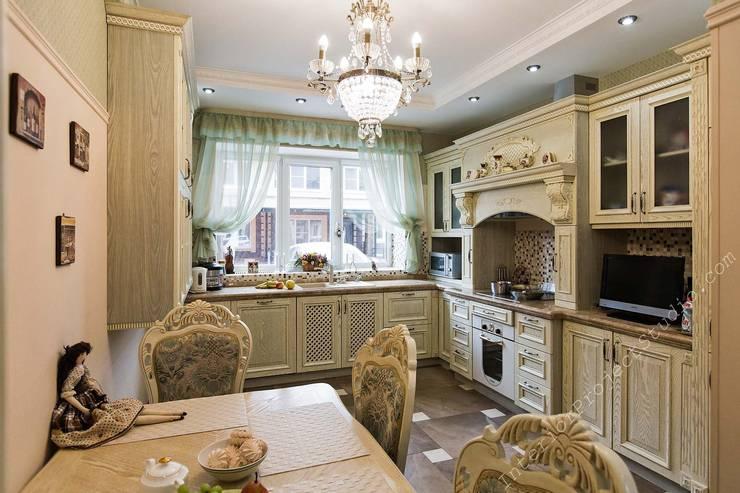 Кухня:  в . Автор – Аврора - частный дизайнер интерьера (ИП)