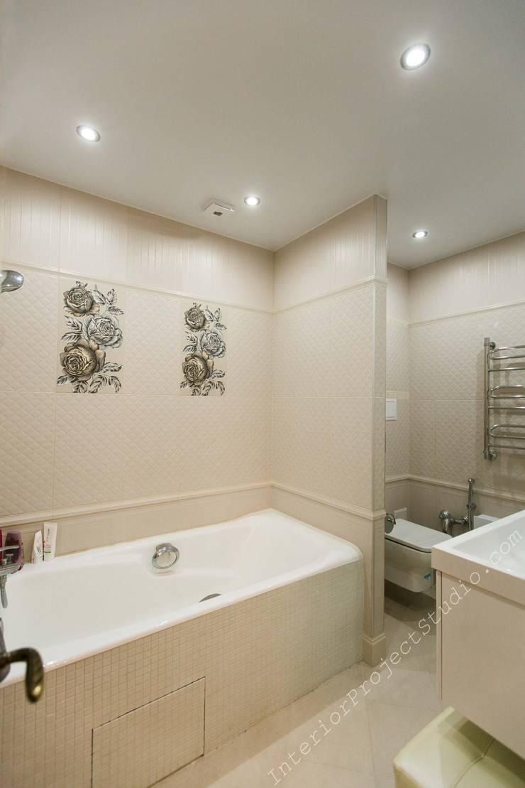 Ванная комната при спальне:  в . Автор – Аврора - частный дизайнер интерьера (ИП)