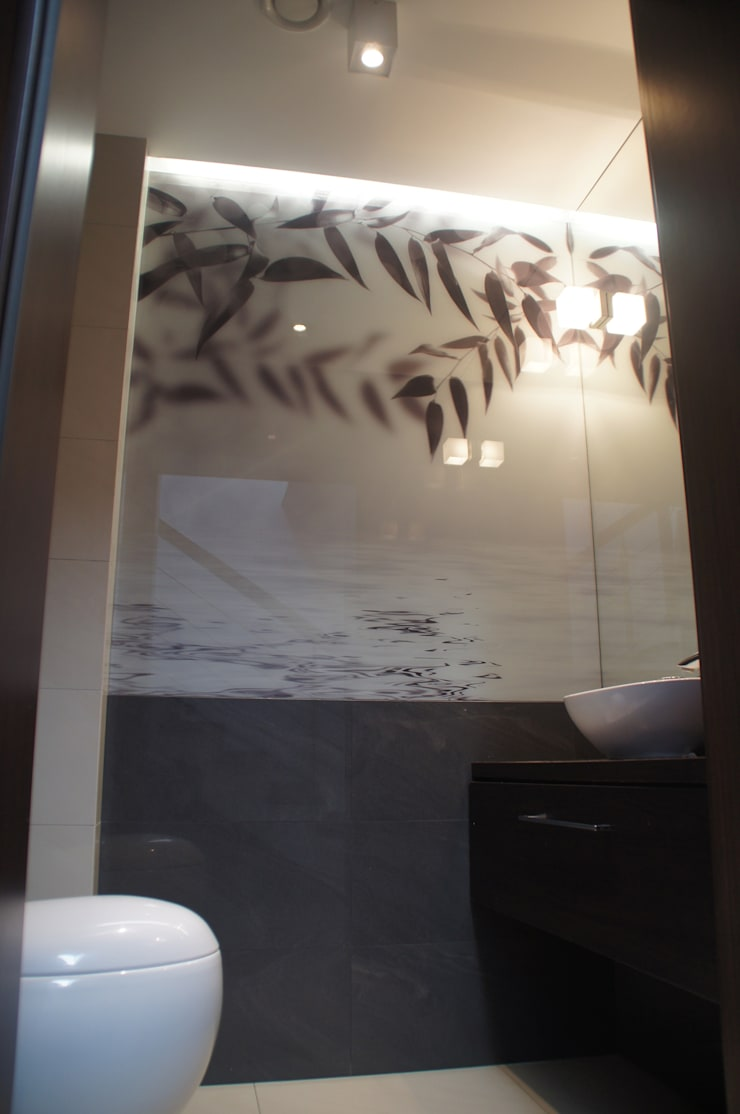BUK – łazienki: styl , w kategorii  zaprojektowany przez Arta Design