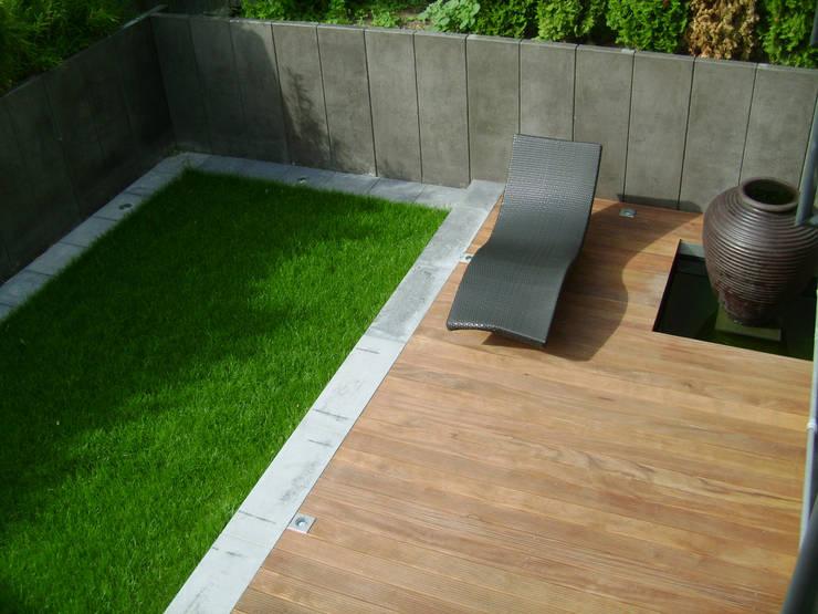 Jardines de estilo  por BERND WALDVOGEL LANDSCHAFTSARCHITEKTUR